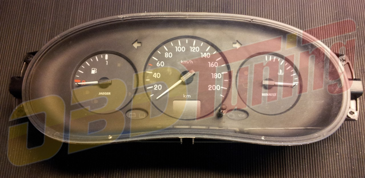 Kombiinstrument Renault Clio