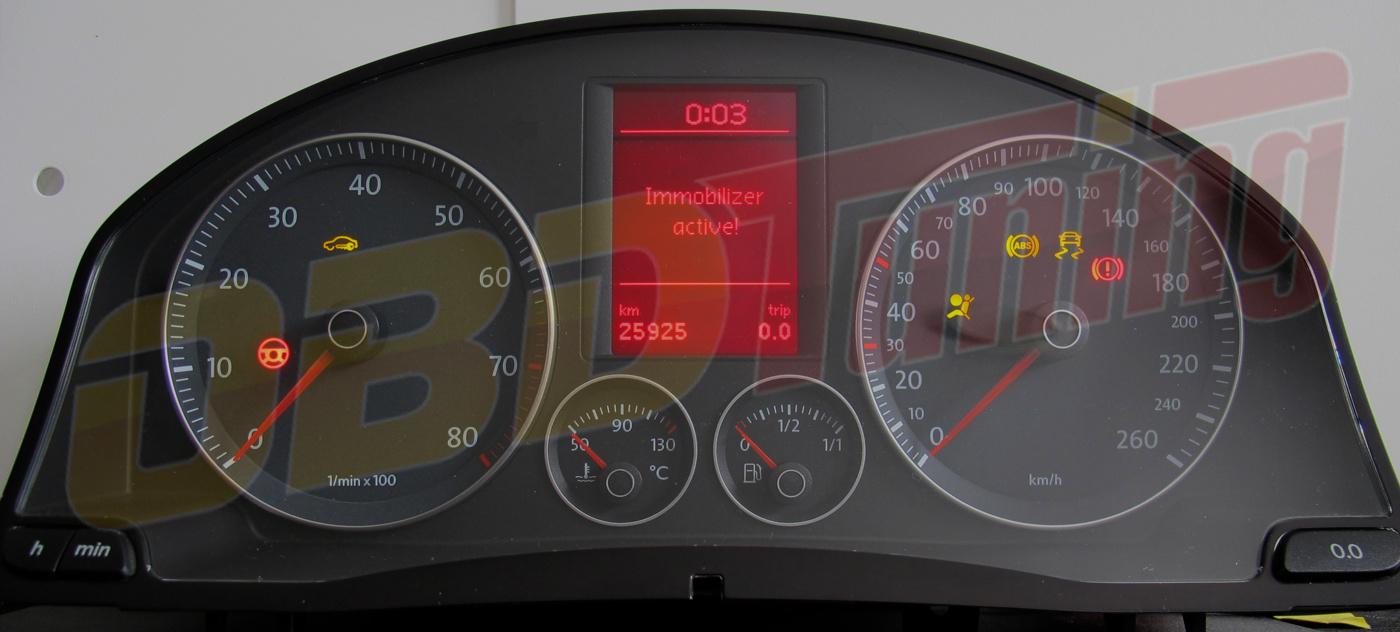 Kombiinstrument Volkswagen Golf V